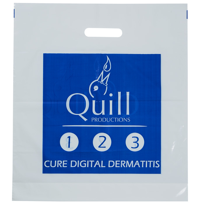 Promotional Polythene Carrier Bag - Branded