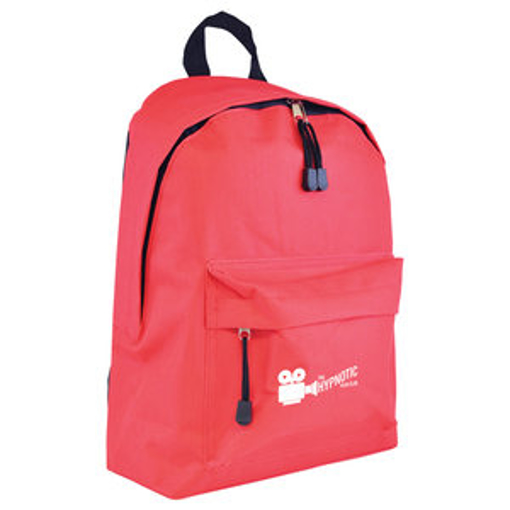 Royton Backpack - Red with black back panel