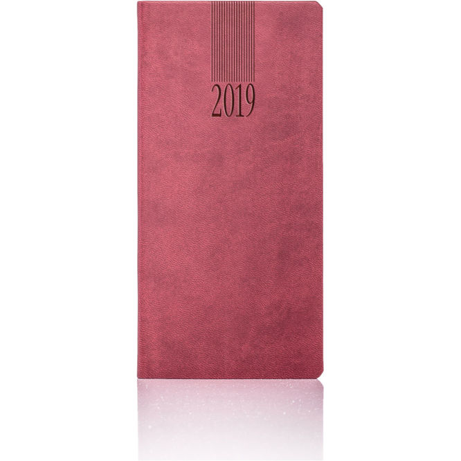 Tucson Pocket Weekly Diary Burgundy