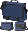 Dover Satchel - Blue View of Organiser