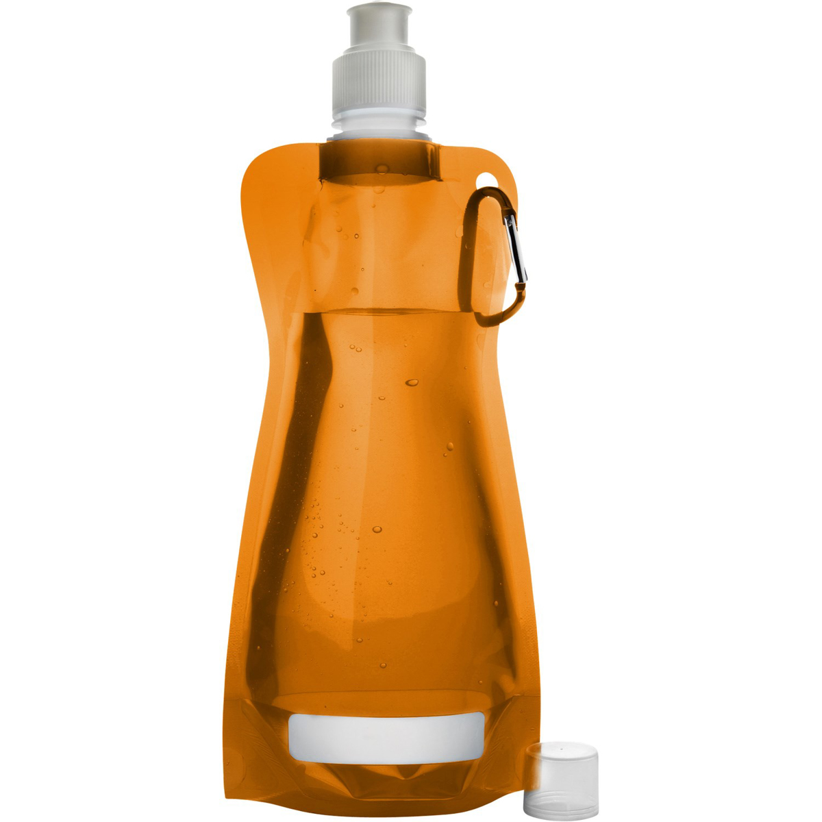420ml Folding Bottle Orange