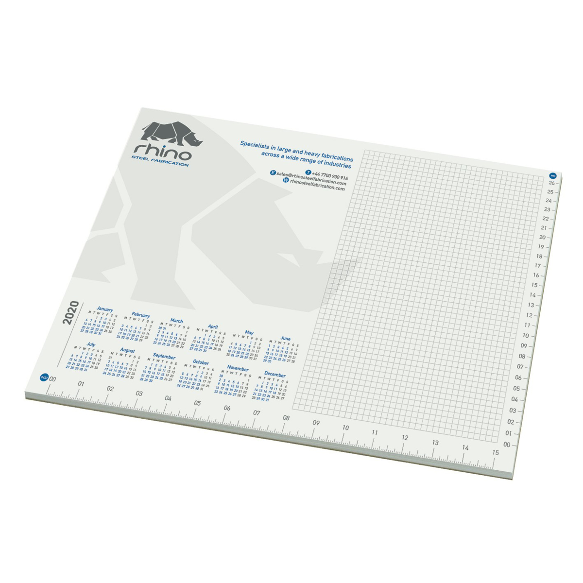 A3 Desk Pad - Standard Design 4