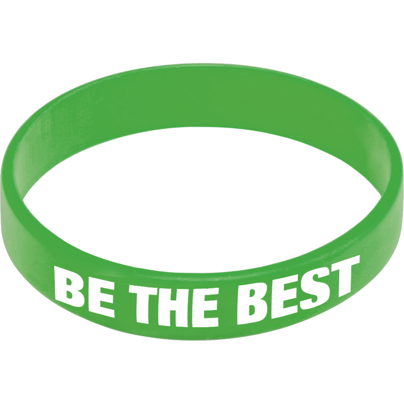 Express Silicone Wristband - Medium Green
