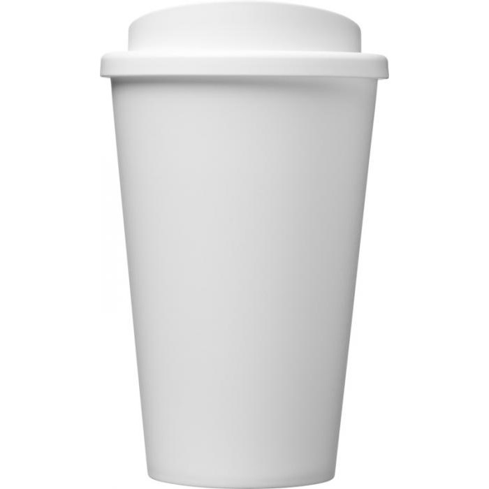 Americano Coffee Travel Mug - White