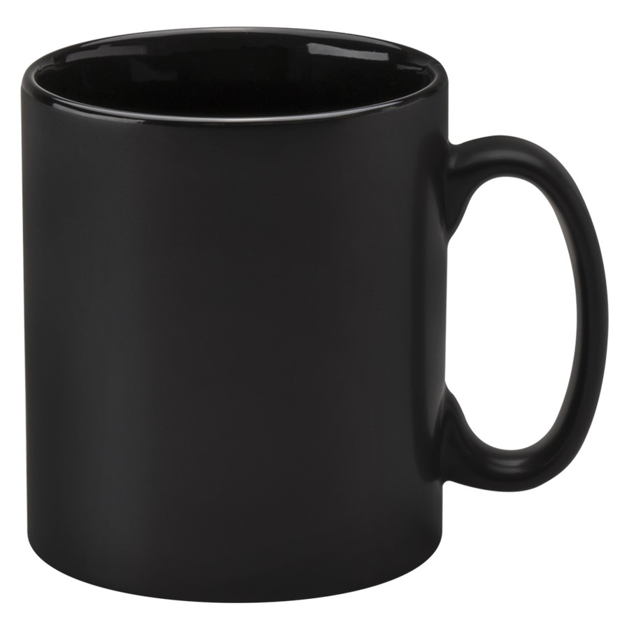 Cambridge Promotional Mug - Matt Black
