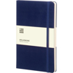 Large Moleskine Hardback Ruled Notebook - Prussian Blue