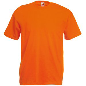 Fruit of the Loom Value Weight T-Shirt - Orange
