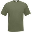 Fruit of the Loom Value Weight T-Shirt - Olive Green