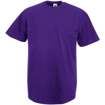 Fruit of the Loom Value Weight T-Shirt - Purple