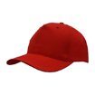 Polyester Twill Budget Cap - Red