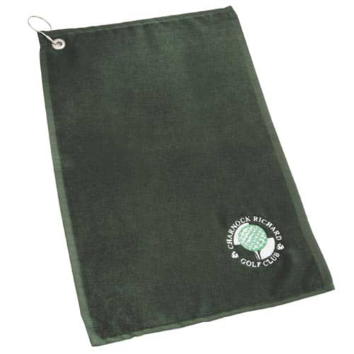 Golfing Towel - Dark Green