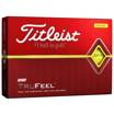 Titleist TruFeel Golf Balls - Yellow box of 12